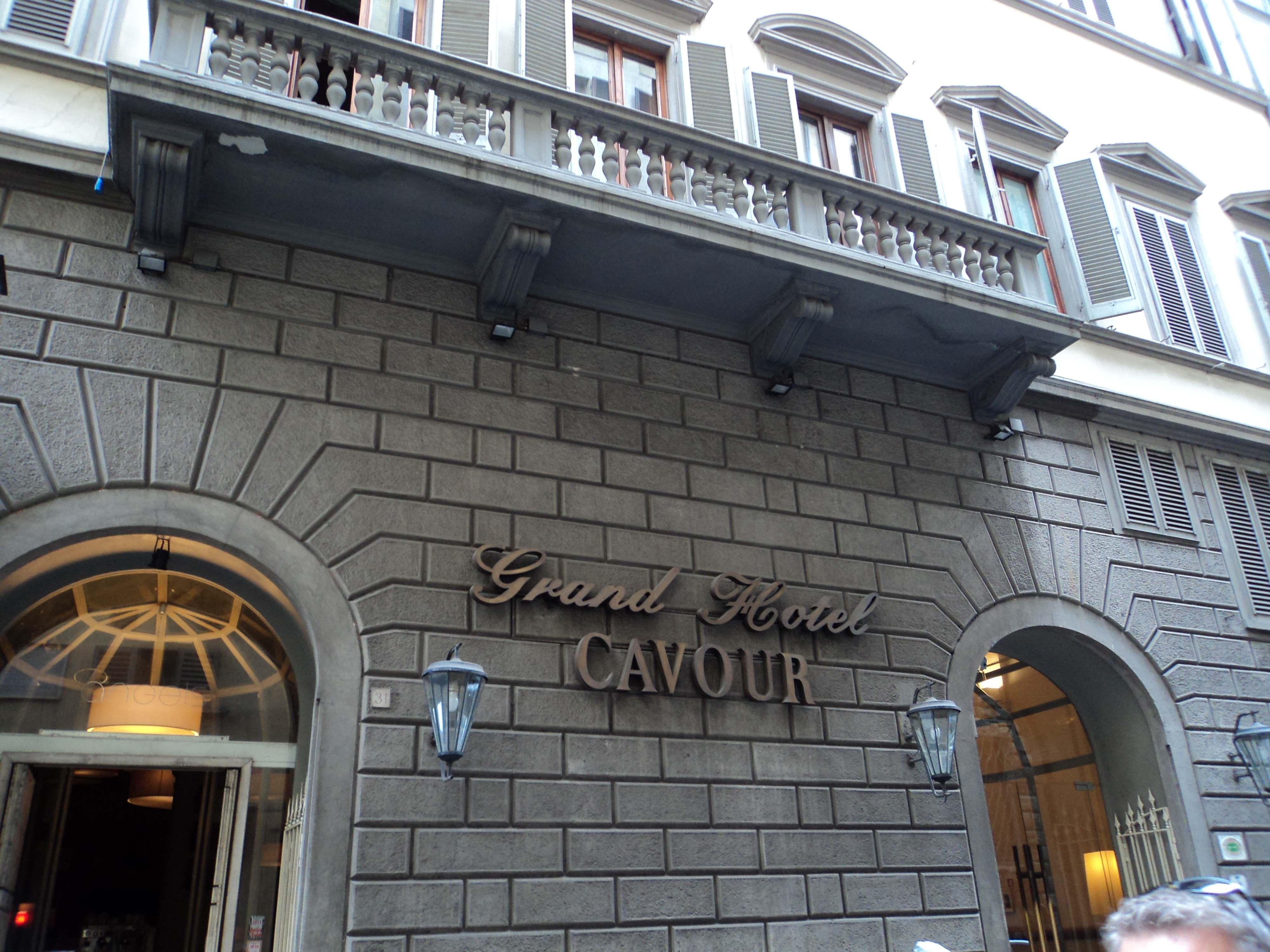 Staying at the grand hotel cavour florence wife in for Grand hotel