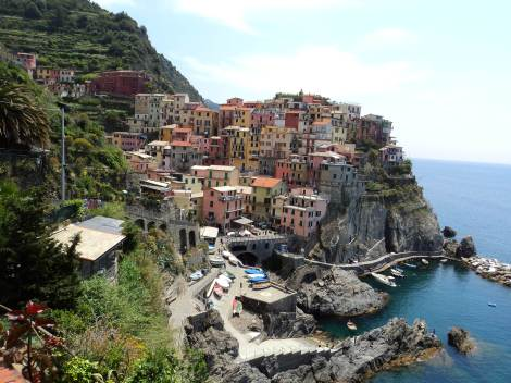 layer cake Manarola