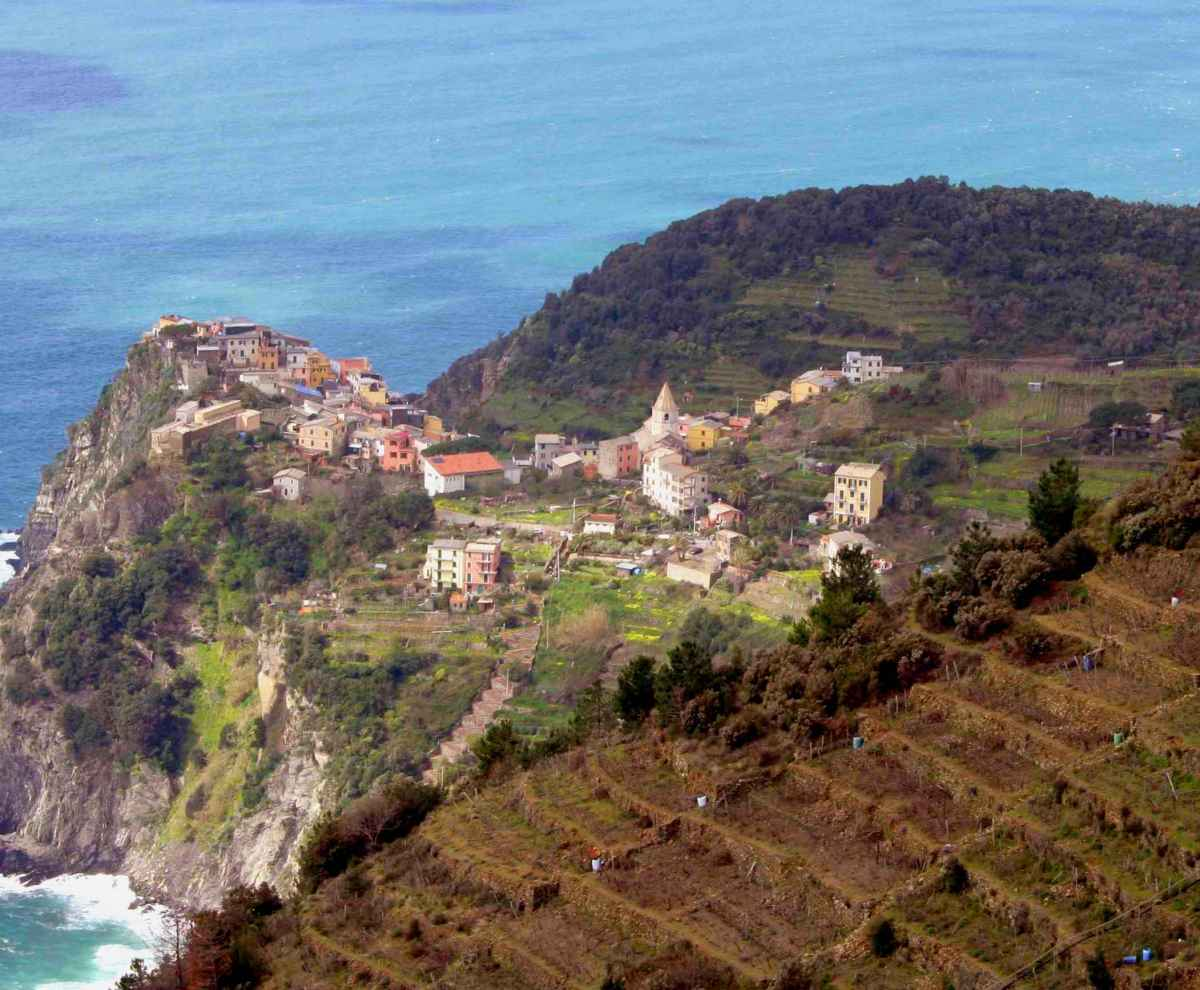 Corniglia - one of the five pearls in Cinque Terre