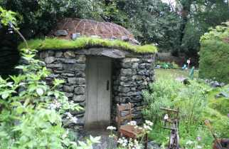 Little stone hut might work at the cabin